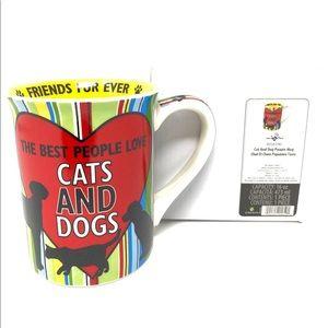 Dog and Cat lover mug